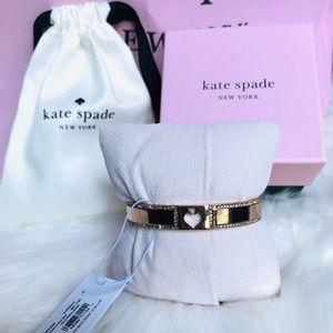 🎁Kate spade Authentic rose gold sparkle bracelet